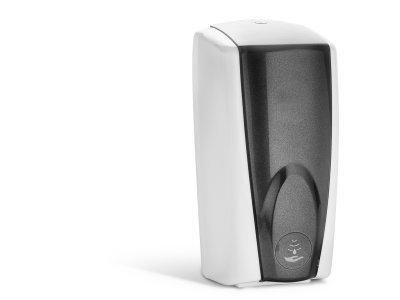 Bezdotykový dávkovač mýdla S2 - bílý / stříbrný