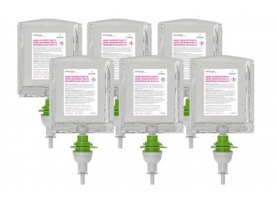 Dezinfekce na ruce ECOSTEP S3/S2 - 1000 ml - karton 6 ks